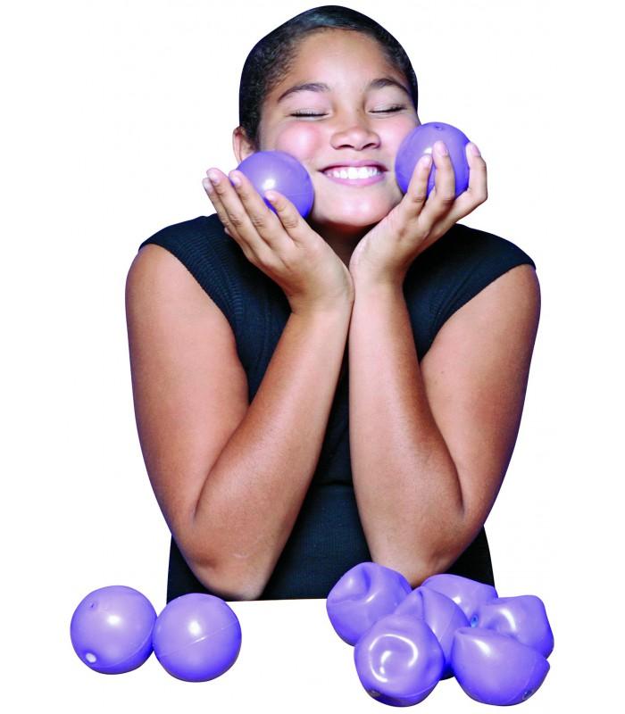 Zestaw 10 piłek sensorycznych