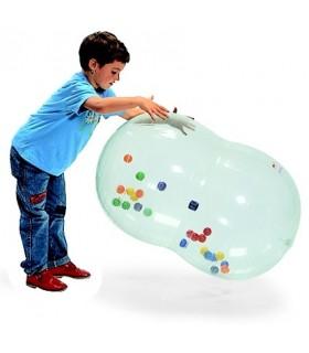 Wałek rehabilitacyjny z piłkami w środku