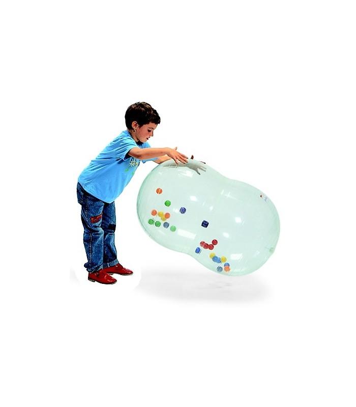 Wałek rehabilitacyjna z piłkami w środku