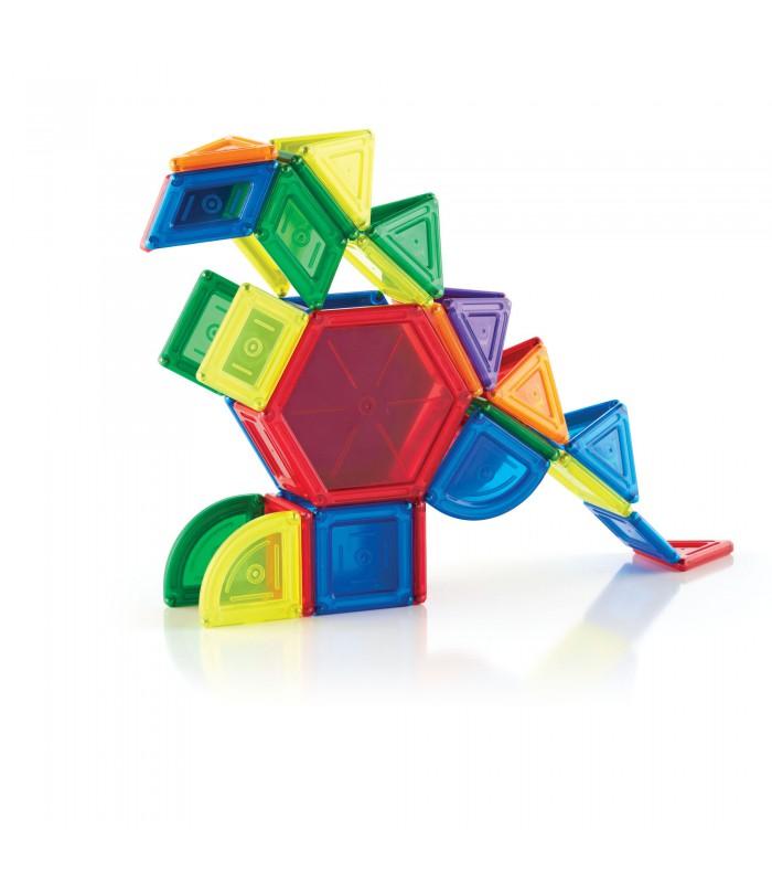 Magnetyczne klocki solid 44 części