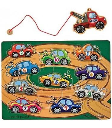 Magnetyczne holowanie aut