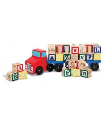 Ciężarówka z alfabetem