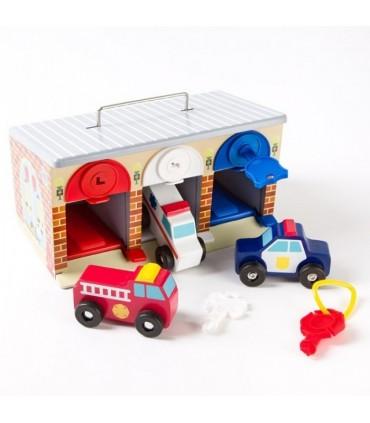 Garaż, pojazdy ratunkowe