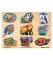 Puzzle dźwiękowe zoo