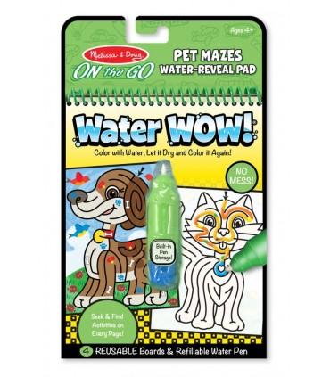 Wielokrotnego użytku wodna kolorowanka Zwierzątka