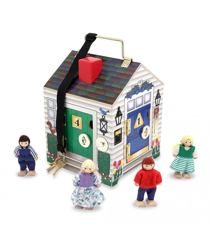 Dźwiękowy domek z zamkami