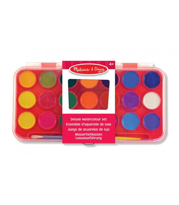 Zestaw 21 farb akwarelowych