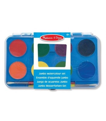 Zestaw 8 farb akwarelowych
