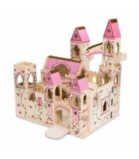 Drewniany zamek księżniczki