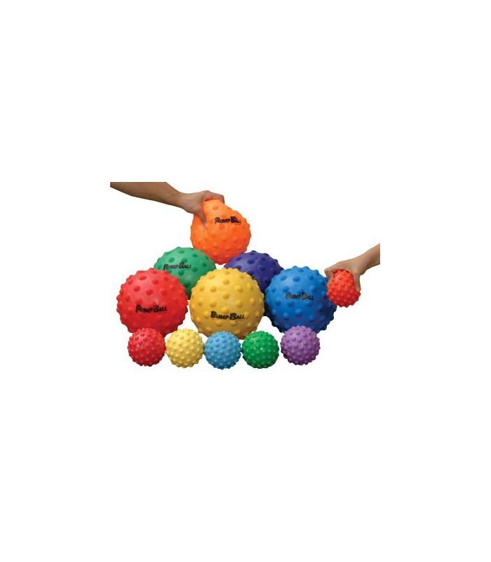 Lekka piłka z wypustkami - 10 cm