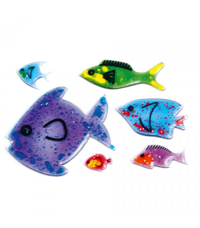 Zestaw żelowych rybek