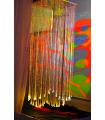 Interaktywny wodospad światłowodowy