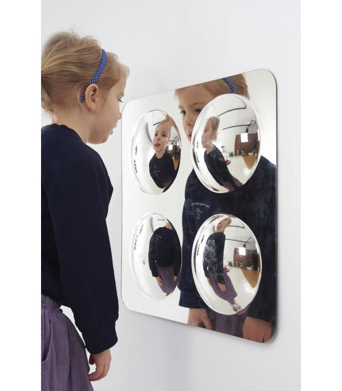 Lustrzany panel akrylowy - 4 bańki
