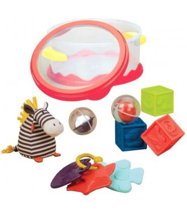 Zestaw zabawek dla najmłodszych