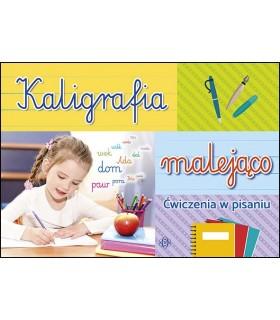 Kaligrafia malejąco - ćwiczenia w pisaniu
