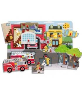 Puzzle dźwiękowe - straż pożarna