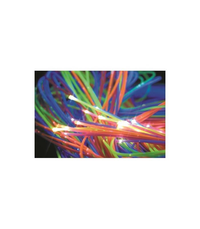 100 światłowodów UV/MSE
