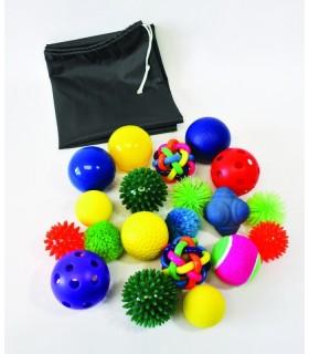 Zestaw sensorycznych piłek