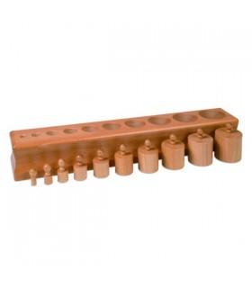 Cylindry Montessori - Blok 1
