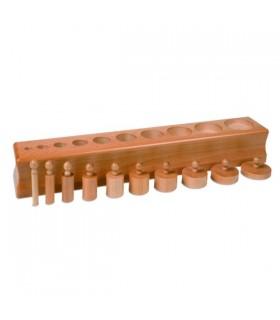 Cylindry Montessori - Blok 3