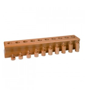 Cylindry Montessori - Blok 4