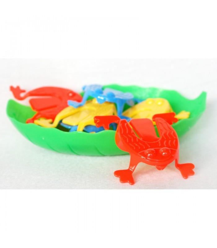 Skaczące żabki w wiaderku empis