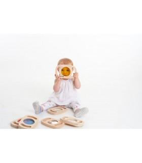 Zestaw sensorycznych szkiełek