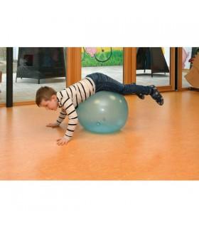 Przezroczysta gimnastyczna piłka 50 cm