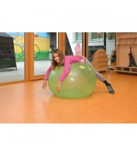 Przezroczysta gimnastyczna piłka 90 cm