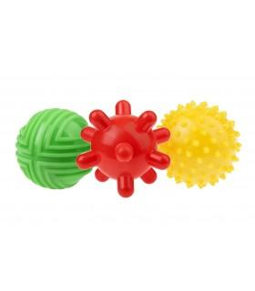 3 piłki sensoryczne