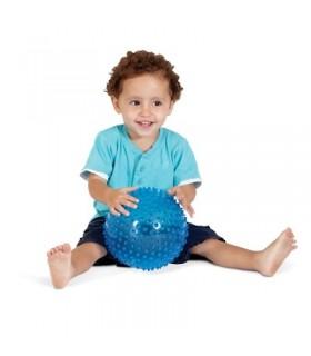 Sensoryczna przezroczysta piłka (18 cm)