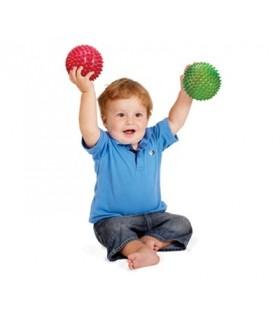 Sensoryczne piłki - zestaw 4 piłek