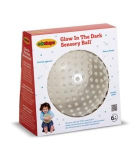 Świecąca w ciemności sensoryczna piłka