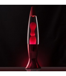Lampka lawa - czerowna