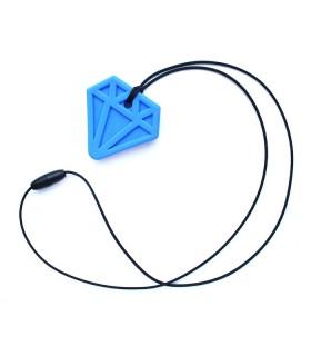 Gryzak/naszyjnik logopedyczny diament
