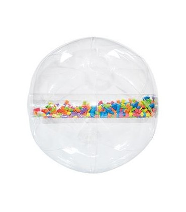Kolorowa piłka klepsydra