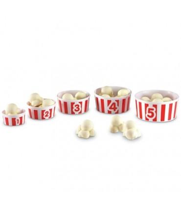 Nauka liczenia - popcorn