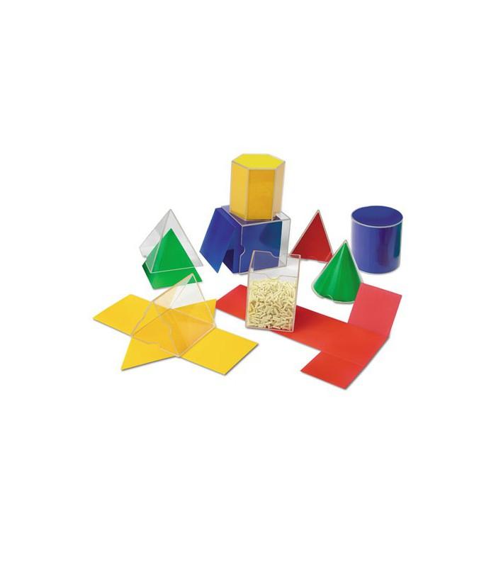 Zestaw brył geometrycznych