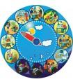 Zegar dobowy ilustrowany