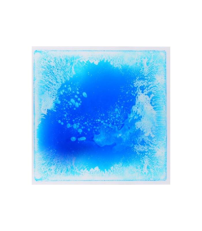 Sensoryczna podłoga z cieczą (niebieska)