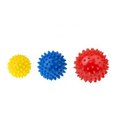 Zestaw 3 piłek z kolcami