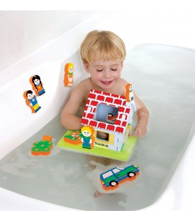 Pływający domek