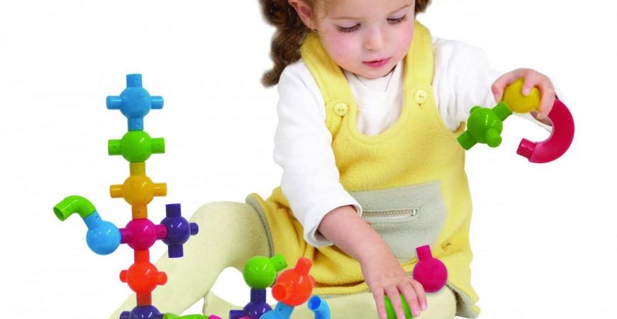 Klocki łączniki - manipulacyjna i kreatywna zabawka